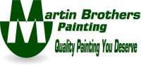 Martin Brothers Painting logo