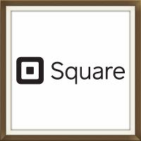 Square Logo We accept Visa and Mastercharge